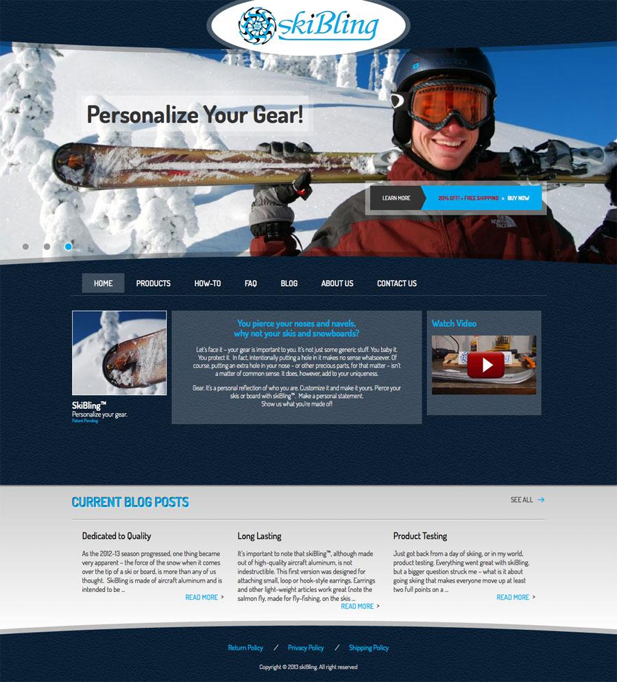 SkiBling Website